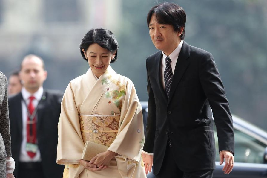 Kruununprinssi Akishino ja kruununprinsessa Kiko saapuvat heinäkuun alussa Suomeen. Pari vieraili Chilessä vuonna 2017.