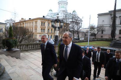"""Suomessa vieraileva Lavrov: """"Ymmärrämme pakolaisongelman, mutta emme lopeta sotatoimia Syyriassa"""""""