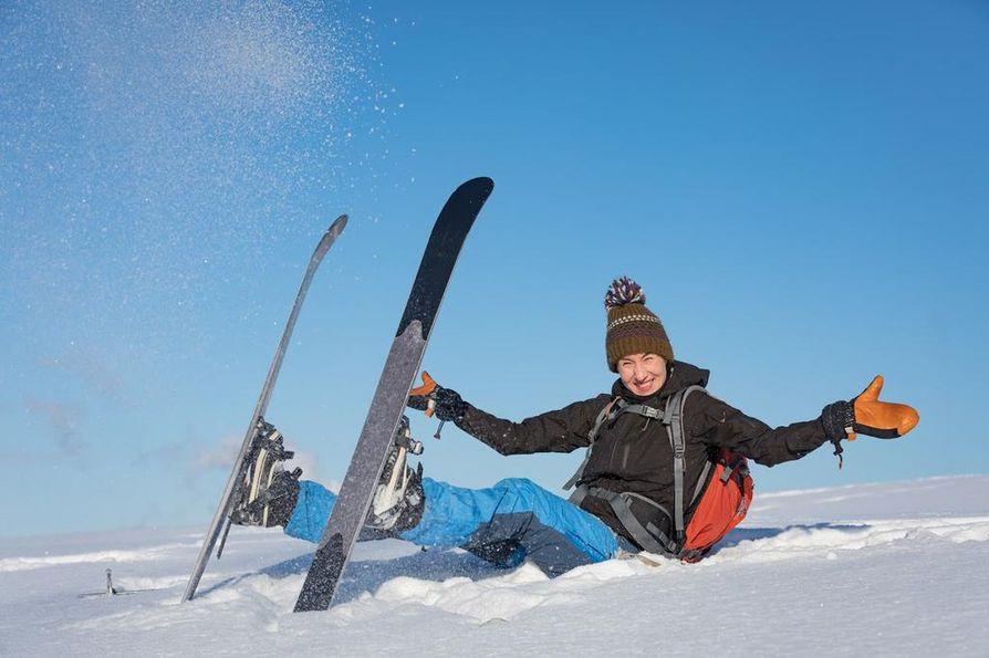 Vaikka lähiretket ovatkin tärkeitä, Heidi Outakoski haaveilee maailman korkeimmista vuoristoista Nepalissa sekä Alaskasta.