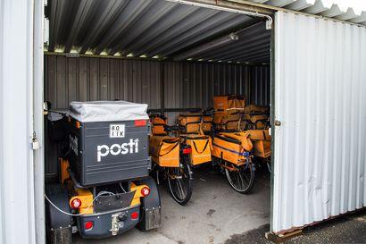 Työryhmä ehdottaa, että postia jaettaisiin enää kolmena päivänä viikossa