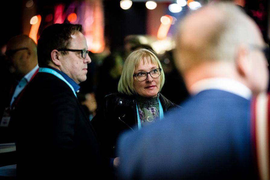 Pohjois-Pohjanmaan Yrittäjien toimitusjohtaja Marjo Kolehmainen on kokenut forum-vieras. Hän hakee tapahtumasta tukea omille ajatuksilleen ja itsensä kehittämiseen.