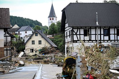 Saksan tuhotulvien kuolonuhrien määrä jatkaa kasvuaan – tähän mennessä tulvat ovat vieneet jo lähes 60 ihmisen hengen