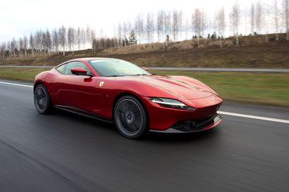 Iättömän ihana Ferrari Roma tarjoaa kaamosterapiaa puolella miljoonalla – Näin tuplaturboahdettu V8-voimanpesä herää henkiin