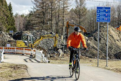 Kesällä kunnostetaan ja rakennetaan pyöräteitä – katso kartasta, mitkä Oulun katuremonteista vaikuttavat liikenteeseen