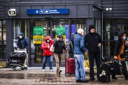 Lentomatkailu kasvoi syksyä kohti – Rovaniemen, Kittilän ja Ivalon kentät olivat kotimaassa suosittuja