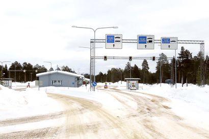 Sallan ja Raja-Joosepin rajanylityspaikkojen aukioloaikoja rajoitetaan