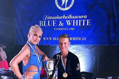 Prykäri ja Lämsä tanssivat Suomen mestareiksi
