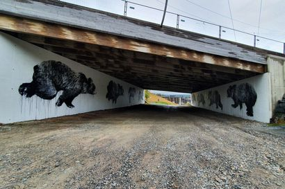 """Rukan karhumuuraali haastoi kuvataiteilija Jussi TwoSevenin: """"Työmäärä yllätti vähän, vaikka siihen oli varautunut"""""""