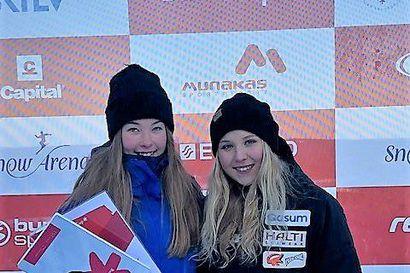 Riia Pallari voitti kauden viimeisen alppihiihtokisan Pyhällä