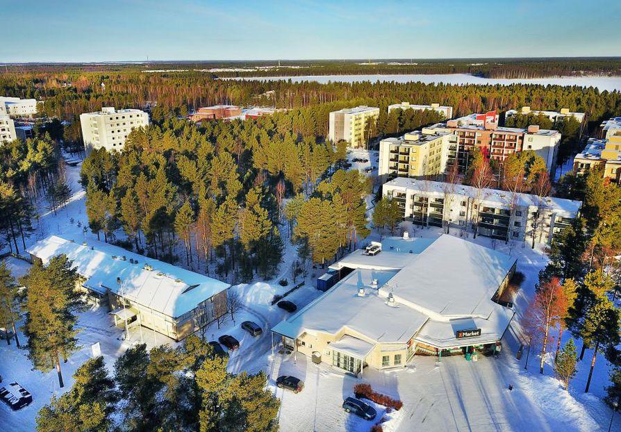 Kaijonharjun ja Linnanmaan alueella vuokralla asuminen on yleisempää kuin muualla Oulussa.