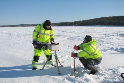 Painovoimalla herkistelyä – GTK:n viime talvena aloittamat kallioperätutkimukset ja maastomittaukset jatkuvat Pudasjärven Pintamolla