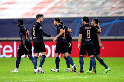 Manchester City varmisti jatkopaikan Mestarien liigassa
