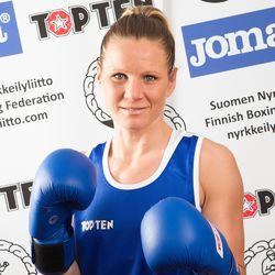 Mira Potkonen nyrkkeili välieriin ja varmisti samalla olympiamitalin Tokiosta