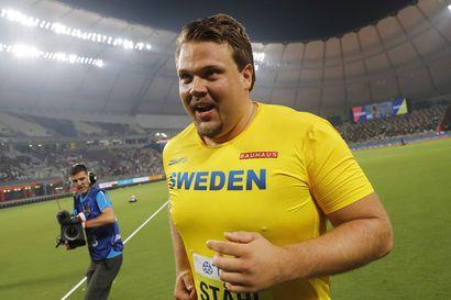 """Kiekkojätti Daniel Ståhl ylitti 70 metriä: """"Tämä on vasta alku"""""""
