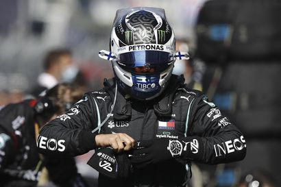 Valtteri Bottas kaasutteli Venäjän gp:ssä kauden toisen voittonsa – Hamilton ei yltänyt MM-ykkösten määrässä vielä Schumacherin rinnalle