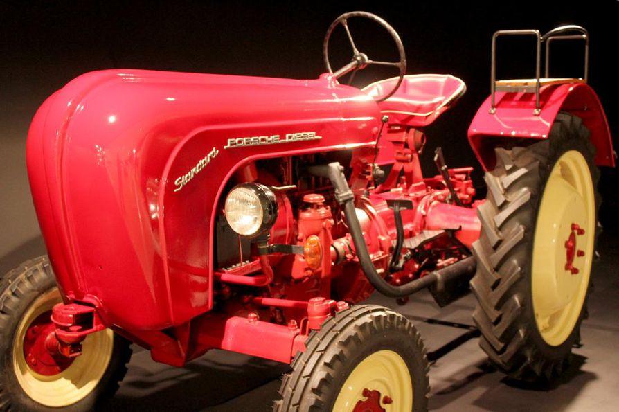 Porschen traktorista tuli keräilykappale, vaikka se suunniteltiinkin vuonna 1956 nimenomaan maatalouskäyttöön.