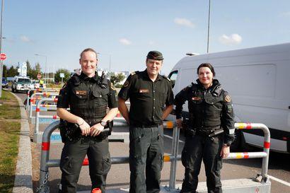 Tehtävä Torniossa tuli koronan vuoksi–Torniossa on sisärajavalvonnan aikana ollut kaikkiaan 600 rajavartijaa