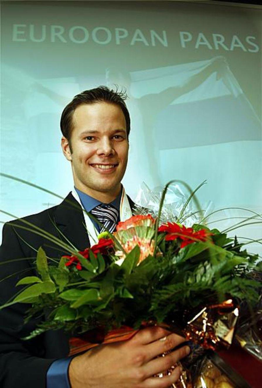 Euroopan yleisurheiluliitto EAA on valinnut keihäänheittäjä Tero Pitkämäen.