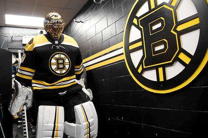 Huippukauden pelannut Tuukka Rask on ehdolla NHL:n parhaaksi maalivahdiksi