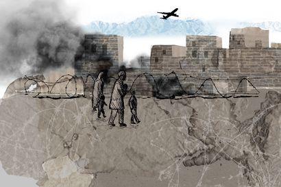 """""""En halua lapsieni kasvavan ilman isäänsä"""" – Kabulilaismies pelkää joutuvansa Talebanin koston uhriksi, jos ei pääse pakenemaan maasta"""
