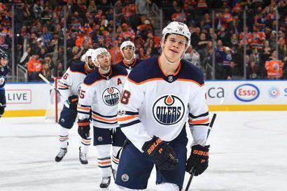 Jesse Puljujärvi palaa NHL:n Edmontoniin kahden vuoden sopimuksella