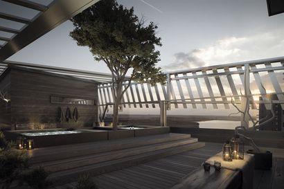 Lapland Hotels suunnittelee kattoterassia ja saunamaailmaa Tampereen Uros live -areenalle – areenan yhteyteen rakentuu ketjun 19. hotelli