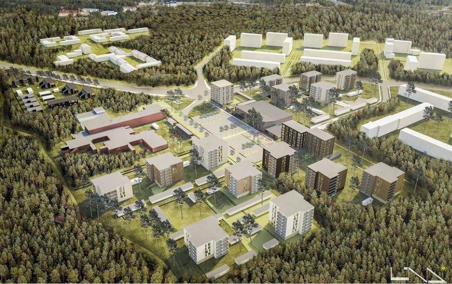 Oulun kaupunginvaltuusto käsitteli Kaukovainion ostoskeskuksen alueen uutta asemakaavaa viime kesänä, kaava vahvistettiin heinäkuussa.  Havainnekuva alueesta julkistettiin jo tammikuussa 2017.
