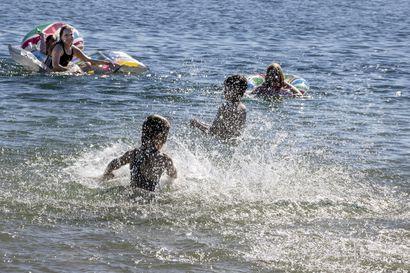 Uudet näytteet: Oulun uimavedet lämpimiä ja laadultaan hyvässä kunnossa