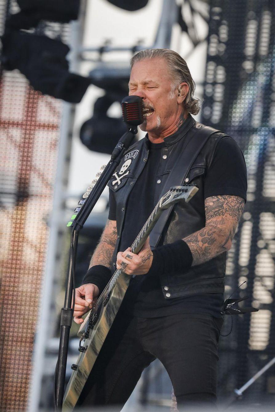 Metallican nokkamies James Hetfield on laulanut vuoden sisällä reilulle 80 tuhannelle suomalaiselle.