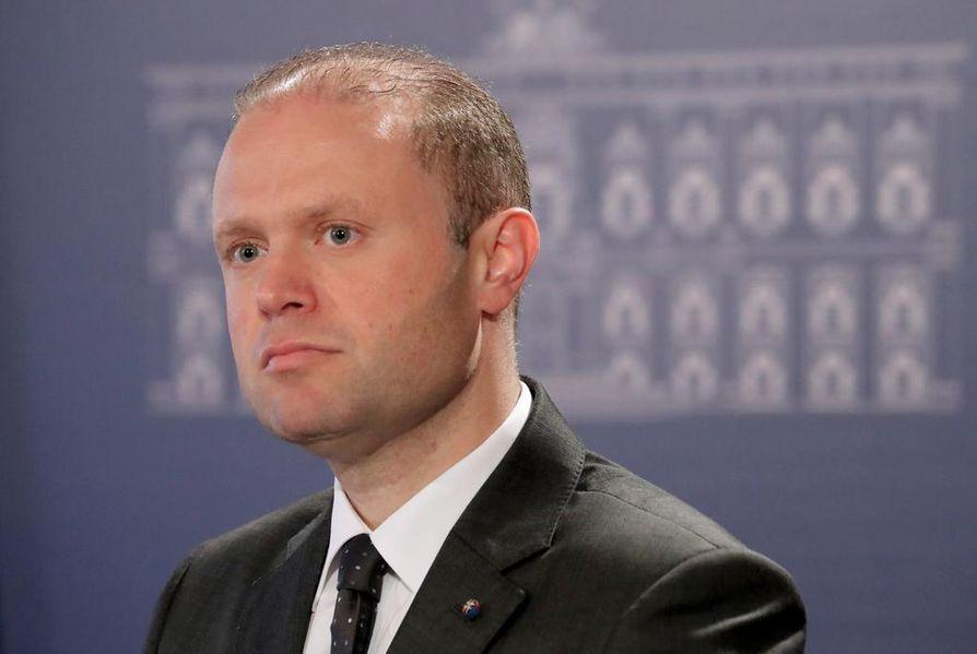 Maltan pääministeri Joseph Muscat aikoo erota tammikuussa.