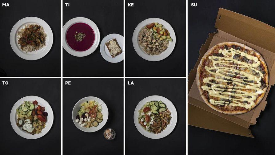 Terveellinen ravitsemus on kokonaisuus, jossa ratkaiseva merkitys on jokapäiväisillä valinnoilla pitkällä aikavälillä. Jos kuutena päivänä viikosta syö terveellisesti, voi yhtenä päivänä ottaa rennosti ja syödä vaikka pizzaa.