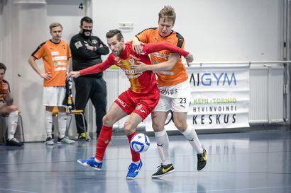 """Miesten futsal-liigassa jo ottelusiirtojen suma: """"Liiga pitäisi laittaa tauolle, jatkoa katsottaisiin tammikuussa"""""""
