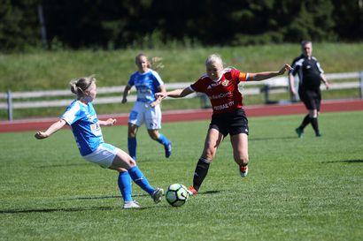 FC Raahen naisille maalin tappio Kempeleessä