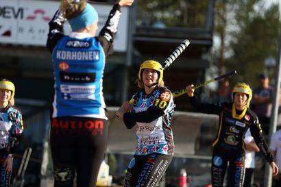 Naisten voittokulku jatkui Oulunsalossa