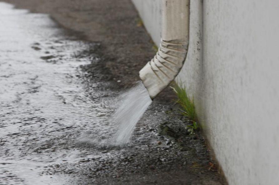 Ennusteiden mukaan Oulussa sataa lauantaina iltapäivällä ja alkuillasta.