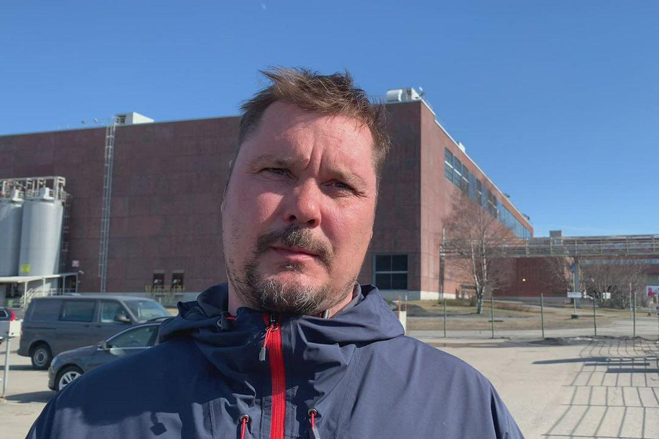 Veitsiluodon tehtaan pääluottamusmies Mikko Alamommo kommentoi Kemin tehtaan lopettamispäätöksestä.