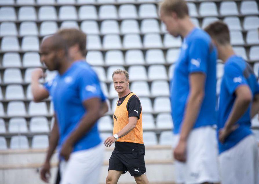 RoPS otti tuntumaa Raatin kenttään päävalmentajansa Juha Malisen johdolla keskiviikkona.