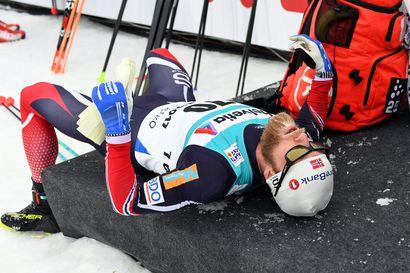 Norjan miehillä oli historiallisen heikko talviurheilukausi