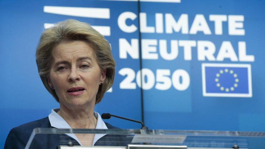 EU-komission tuore puheenjohtaja Ursula von der Leyen julkaisi keskiviikkona unionin vihreän kasvun ohjelman.