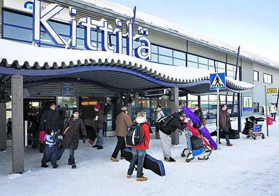 Kittilästä on talvella suoria lentoja Pariisiin, Lontooseen ja Zürichiin.