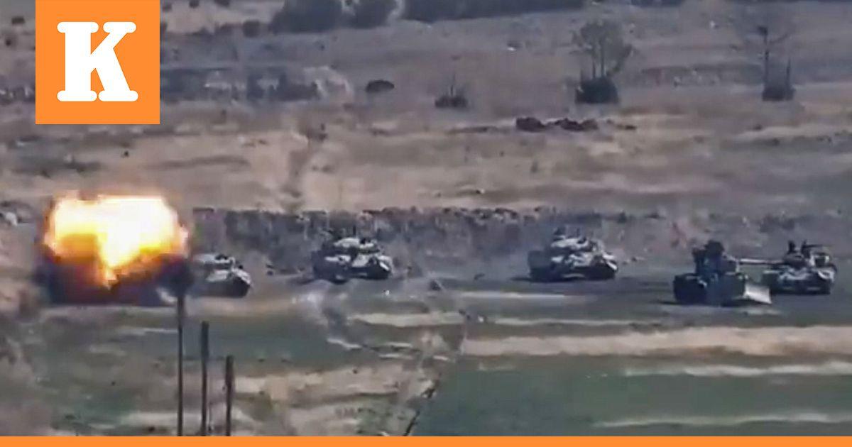 Vuoristo-Karabahissa taistellaan taas verisesti  lähistöllä kulkevien putkien...