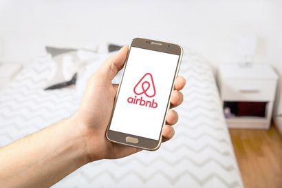 Rovaniemen yöpymiset lisääntyivät kaksi prosenttia viime vuoden heinäkuusta, Airbnb laski ensimmäisen kerran