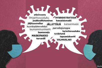 Pandemia mullisti myös kielenkäytön–testaa, kuinka hyvin sinä puhut koronaa