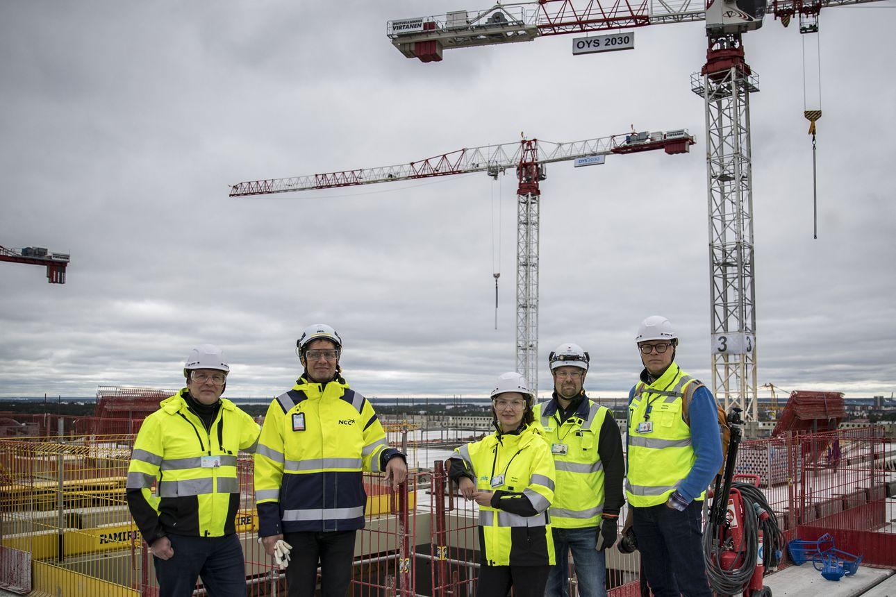 Oulun yliopistollisen sairaalan uudisrakentamisessa ollaan aikataulua edellä – Työmaalla nousee nyt kovaa vauhtia ydinsairaalan A- ja B-rakennukset sekä sädehoitoyksikkö