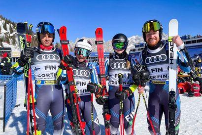 Suomi 9:s MM-alpphiihdon joukkuekilpailussa