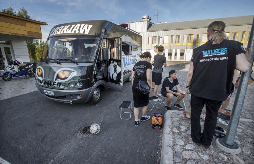 Walkers-auto eli Wauto liikennöi nyt toista kesää Oulun alueella.