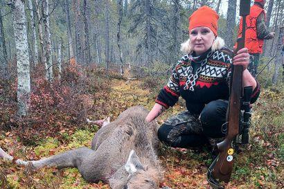 Kaksi ensikertalaista pääsi heti kaadon makuun – Hirvenmetsästys Koillismaalla on päässyt hyvään vauhtiin, Posiolla ensitahdit otettiin jo syysjahdista