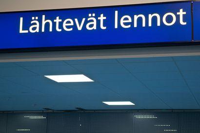 Kuusamon lentokenttä suljetaan kansainväliseltä lentoliikenteeltä - Kuusamon rajanylityspaikalla alkaa torstaina rajoitukset