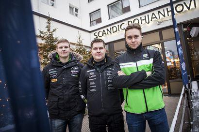 """Tunturin voittoa puolustava Emil Lindholm: """"Toivottavasti viime vuoden flow kantaa"""""""