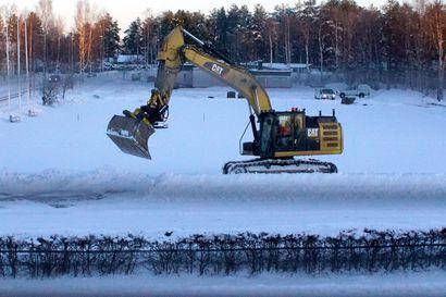 Päiväkodin pohjatyöt alkoivat Kurenalla – yksityinen päiväkoti valmistuu loppukesällä